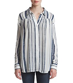 Hippie Laundry Stripe Front Tie Top