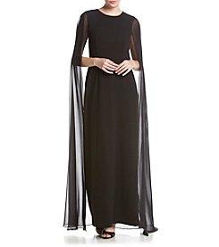 Calvin Klein Chiffon Long Gown