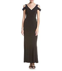 Calvin Klein Crepe Long Dress