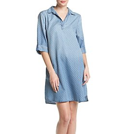 Luxology Dot Shirt Dress