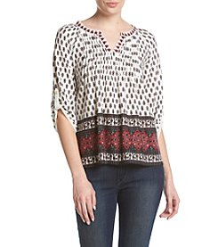 Vintage America Blues™ Pintuck Peasant Top