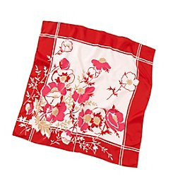 Collection 18 Floral Square Scarf