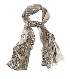 Collection 18 Paisley Oblong Scarf