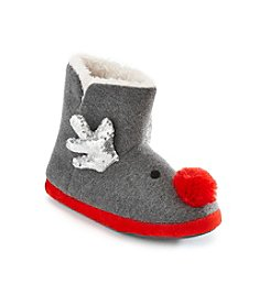 Collection 18 Reindeer Sequin Bootie