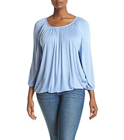 MICHAEL Michael Kors® Plus Size Peasant Top