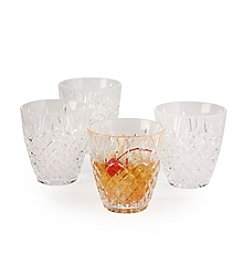 Mikasa® Set of 4 Double Old Fashion Glasses