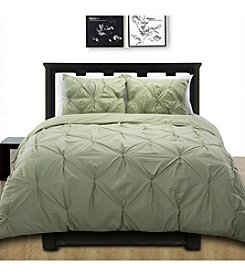 Epoch Hometex Cottonesque Pintuck Duvet Cover Mini Set