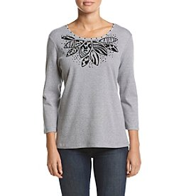 Alfred Dunner® Knit Tee