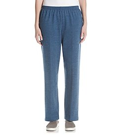 Alfred Dunner® French Terry Proportioned Medium Pants