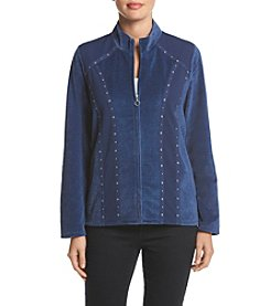 Alfred Dunner® Adirondack Trail Spliced Jacket