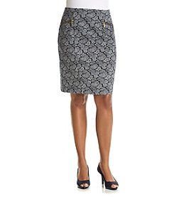 MICHAEL Michael Kors® Plus Size Woodbrook Pencil Skirt