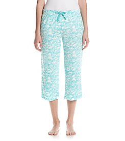 Relativity® Starfish Print Sleep Capri