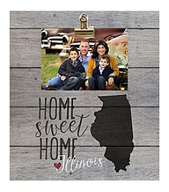 Kindred Hearts Illinois Clip-It Pallet Board Photo Frame