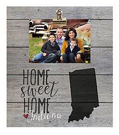 Kindred Hearts Indiana Clip-It Pallet Board Photo Frame