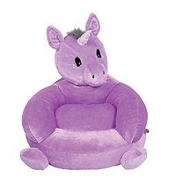 Trend Lab Children's Plush Unicorn Character Chair