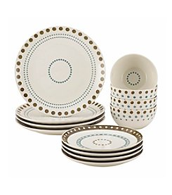 Rachael Ray® Circle And Dots 12-pc. Set
