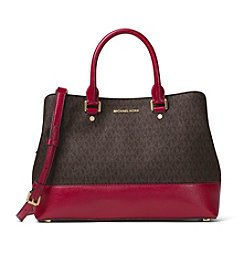 MICHAEL Michael Kors® Large Signature Savannah Satchel