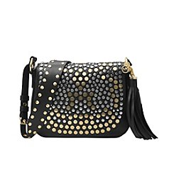 MICHAEL Michael Kors® Studded Brooklyn Medium Saddle Bag