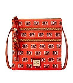 Dooney & Bourke® NFL® Cincinnati Bengals Triple Zip Crossbody