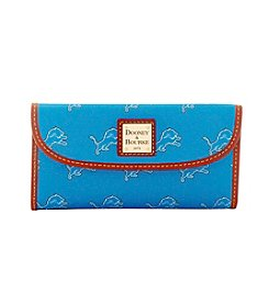 Dooney & Bourke® NFL® Detroit Lions Continental Clutch