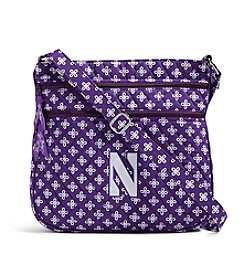 Vera Bradley® NCAA® Northwestern Wildcats Triple Zip Hipster