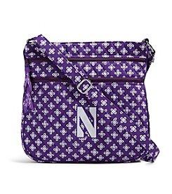 Vera Bradley® NCAA® Northwestern Wildcats Triple Zip Hipster