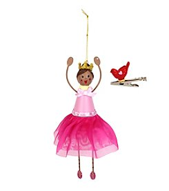 Betsey Johnson® Princess Ornament and Bird Charm