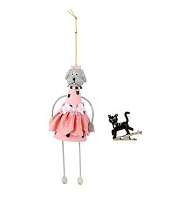 Betsey Johnson® Dog Ornament and Cat Charm