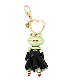 Betsey Johnson® Frog Girl Keychain