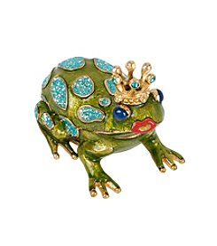 Betsey Johnson® Frog Prince Keepsake Box