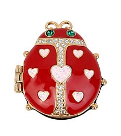 Betsey Johnson® Ladybug Keepsake Box