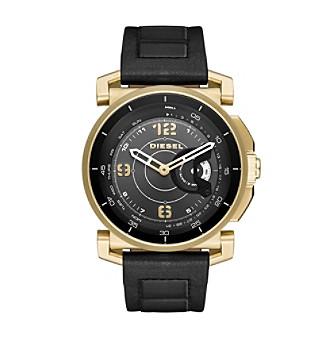 Diesel On Time Hybrid Leather Strap Smartwatch