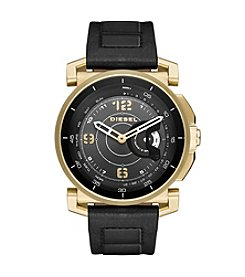 Diesel On Time Hybrid Leather Strap Smartwatch