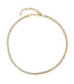 Gloria Vanderbilt™ Mesh Stone Chain Collar