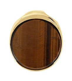 Robert Lee Morris Soho™ Tiger's Eye Round Pendant Enhancer