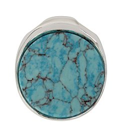 Robert Lee Morris Soho™ Round Turquoise Pendant Enhancer