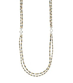 Nine West® Beaded Strand Necklace