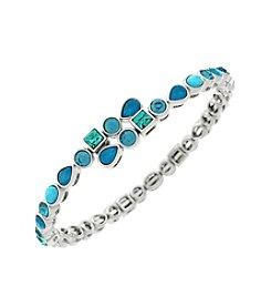 Jessica Simpson Stone Coil Bracelet