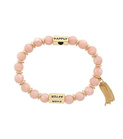 Jessica Simpson Happily Ever After Power Bead Bracelet
