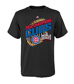 Majestic MLB® Chicago Cubs Kids' 4-7 World Series Parade Tee