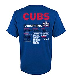 Majestic MLB® Chicago Cubs Kids' 4-7 Sweet Lineup Short Sleeve Tee