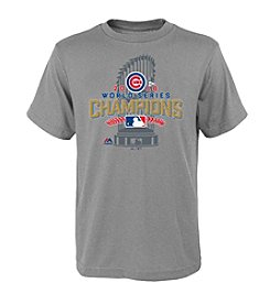 Majestic MLB® Chicago Cubs Kids' 8-20 World Series Champs Locker Room Tee