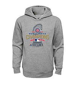 Majestic MLB® Chicago Cubs Kids' 8-20 World Series Champs Locker Room Hoodie