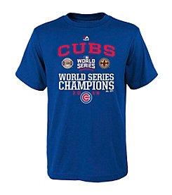 Majestic MLB® Chicago Cubs Kids' Headline News Tee