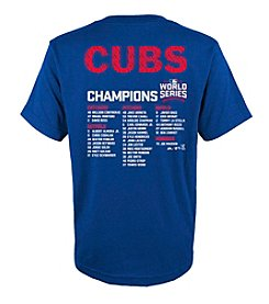 Majestic MLB® Chicago Cubs Kids' 8-20 Sweet Lineup Tee
