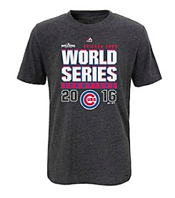 Majestic MLB® Chicago Cubs Kids' World Series Roaring Glory Short Sleeve Tee