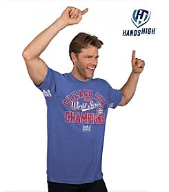 Majestic MLB® Chicago Cubs Men's Primetime Hands High Tee
