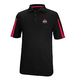 J. America® NCAA® Ohio State Buckeyes Men's Color Blocked Polo