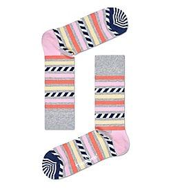 Happy Socks® Stripes & Stripes Socks