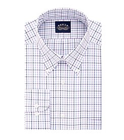 Eagle® Men's Big & Tall Plaid Button Down Dress Shirt